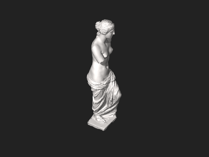 File:Scan the World - Venus de Milo.stl