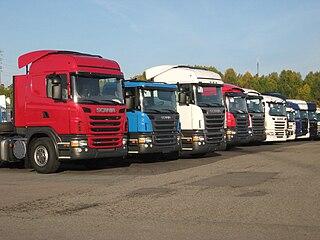 Scania PRT-range Range of modular trucks from Scania