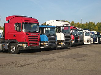 Scania PRT-range - Scania G 420, P 380, R 420 and more.