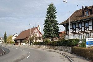 Schöfflisdorf - Image: Schöfflisdorf faktrabdomoj 063