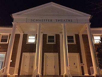 Schaefer Theatre, of Bates College