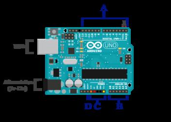 Schéma d'un Arduino.