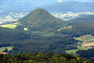 Schiefling am See - Image: Schiefling Kathreinkogel 05072007 01