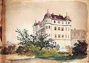Schloss Donzdorf von General Eduard von Kallee