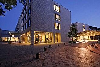 Schön Klinik - New main entrance with emergency room of the Schönklinik Hamburg-Eilbek