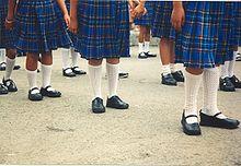 7c61ed1fa195 Uniformes de filles au Mexique.