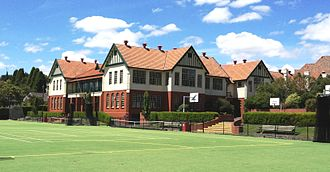 Scotch College, Melbourne - The Junior School (shown 2012) was the first part of the school to move to the current Hawthorn site