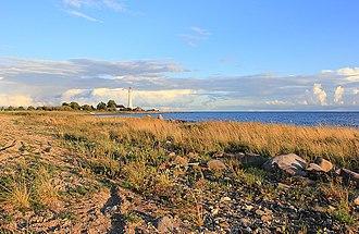 Kihnu - Image: Seashore of Kihnu