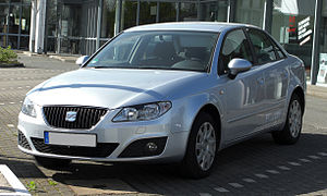 Seat Exeo 1.6 Reference – Frontansicht, 9. April 2011, Düsseldorf.jpg