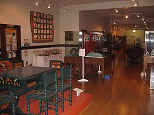 Nordic Heritage Museum - Exhibits at the museum