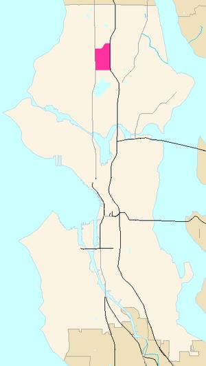 Licton Springs, Seattle - Licton Springs neighborhood