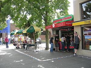 Espresso Vivace - Espresso Vivace bar on Broadway, Capitol Hill, Seattle, Washington