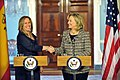 Secretary Clinton Shakes Hands With Spanish Foreign Minister Jimenez (5388530514).jpg
