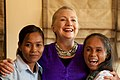 Secretary Clinton with Young Women at the Labor Roundtable (7563695866).jpg