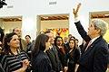 Secretary Kerry Waves to Embassy Tunis Employees in the Balconies (12616038375).jpg
