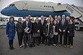 Secretary Pompeo With U.S. Embassy Helsinki Personnel (47743910002).jpg