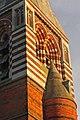 Section of All Saints church tower, Maidenhead, Berkshire.jpg