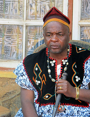 Nso people - His majesty, Sehm Mbinglo I, the fon of the Nso people in Kumbo