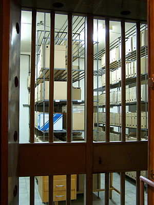 Silesian Treasury - The vault of the National Treasury of Silesia, nowadays an archive