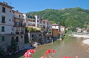 Bagni di Lucca - Image: Serchio Ponte a Serraglio