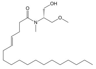 Serinolamide A - Image: Serinolamide A structure