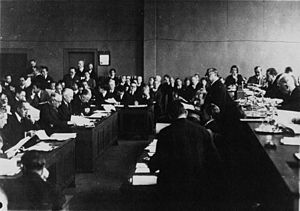 Mukden Incident - Chinese delegate addresses the League of Nations after the Mukden Incident in 1932.