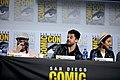 Seth Rogen, Dominic Cooper & Ruth Negga (48429388301).jpg