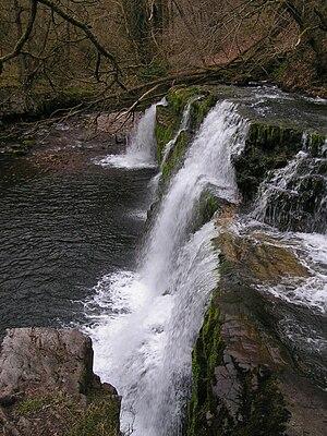 Ystradfellte - Image: Sgwd y Pannwr, Afon Mellte
