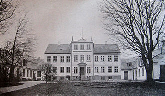 Princess Caroline-Mathilde of Denmark - Princess Caroline-Mathilde's birthplace Jægersborghus in 1909.