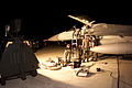 Shaw Air Force Base aircraft maintenance personnel work on an F-16CJ late into the night of Sept 010911-F-VV898-037.jpg