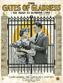 Sheet music cover - THE GATES OF GLADNESS - ON THE ROAD TO SUNSHINE LAND (1919).jpg