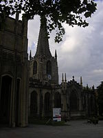 Sheffield Cathedral south front.JPG