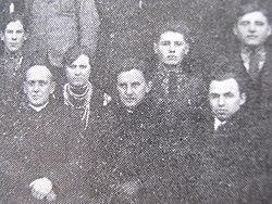 Юрій Шепарович (сидить по центру, с. Зелена, 1932