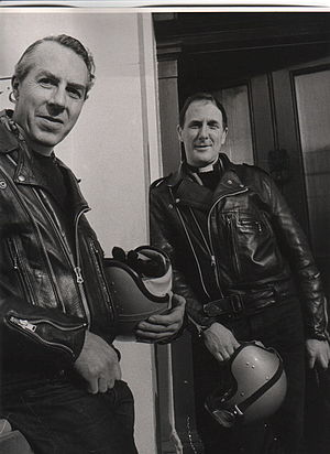 59 Club - Father Bill Shergold and Father Graham Hullet, leaders of the 59 Club