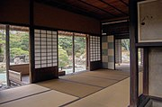 Inside the Shokintei at Katsura Imperial Villa, KyotoBuilt in 17th century