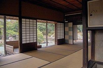 Katsura Imperial Villa - Inside the Shōkin-tei