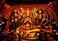Shrine to a Tang dynasty (896 AD) stone statue of the Thousand-Armed Guanyin (千手觀音 Qianshou Guanyin) in Shengshui Temple (內江聖水寺 Neijiang Shengshui-si) in Neijiang, Sichuan, China Picture 2.jpg
