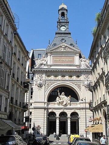 フランス・パリの会社建物