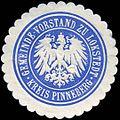 Siegelmarke Gemeinde - Vorstand zu Lokstedt - Kreis Pinneberg W0226385.jpg