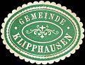 Siegelmarke Gemeinde Klipphausen W0220094.jpg