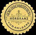 Siegelmarke Gemeindevorstehung Hörbranz - Vorarlberg W0261745.jpg