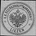 Siegelmarke K.K. Bezirkshauptmannschaft Liezen W0358484.jpg