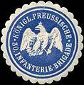 Siegelmarke K.Pr. 30. Infanterie-Brigade W0283667.jpg