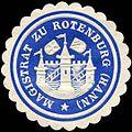 Siegelmarke Magistrat zu Rotenburg (Hannover) W0226253.jpg