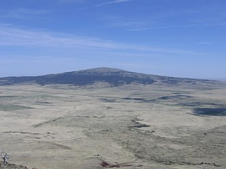Sierra Grande - Sierra Grande seen from the top of Capulin Volcano.
