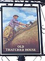 Sign for the Old Thatched House - geograph.org.uk - 853464.jpg