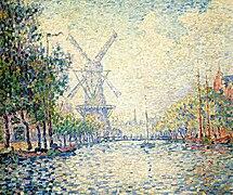 Signac Rotterdam windmill