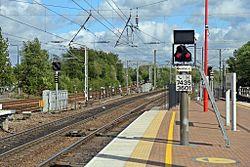Signals, Wigan North Western railway station (geograph 4500050).jpg