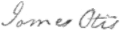 Signature of James Otis Jr. (1725–1783).png