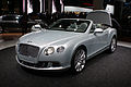 Silver Bentley New Continental GTC fl op IAA 2011.jpg